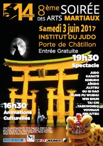 8ème Soirée des Arts Martiaux Paris 14